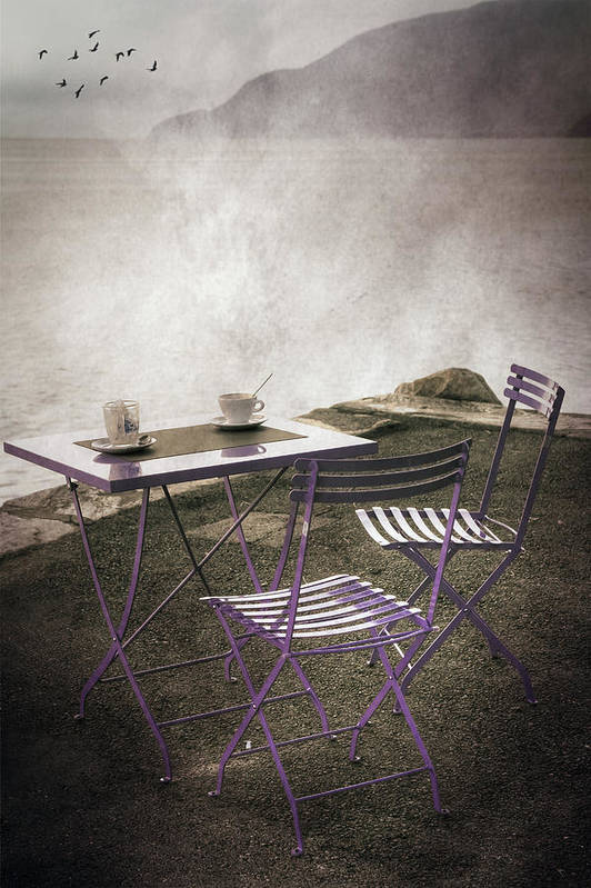Lake Poster featuring the photograph Coffee Table by Joana Kruse