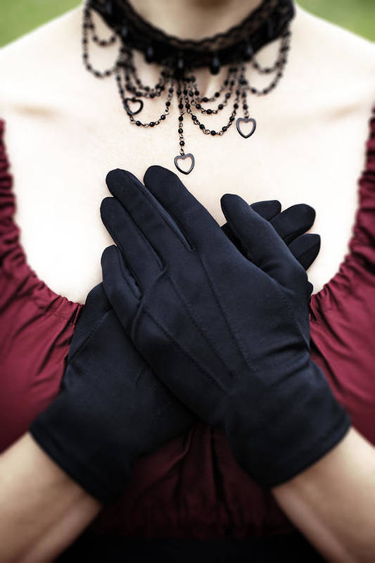 Female Poster featuring the photograph Crossed Hands by Joana Kruse