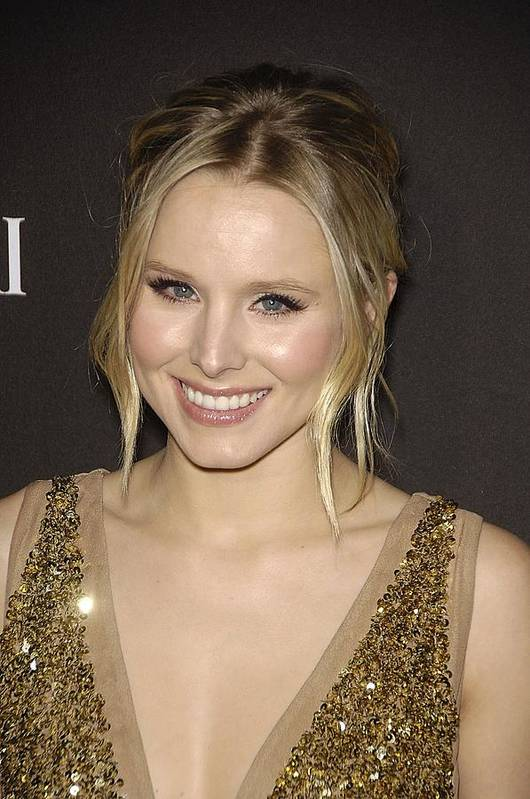 Kristen Bell Poster featuring the photograph Kristen Bell At Arrivals For 12th by Everett