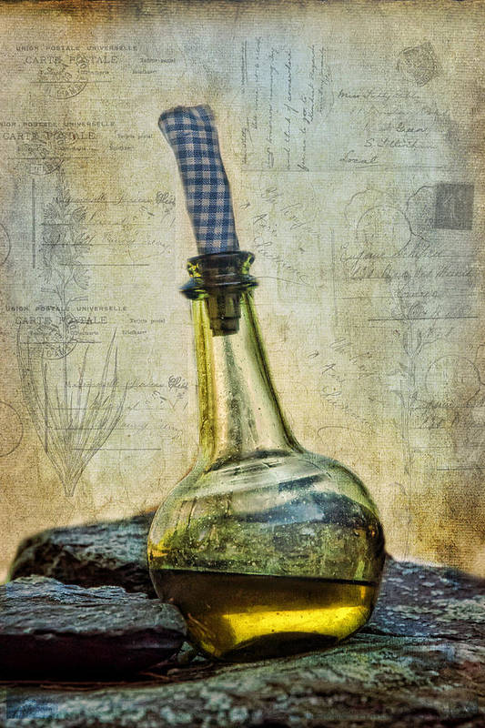 Olive Oil Poster featuring the photograph Olive Oil by Robin-Lee Vieira