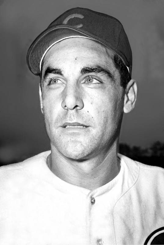 1940s Poster featuring the photograph Phil Cavarretta, Lefty First Baseman by Everett