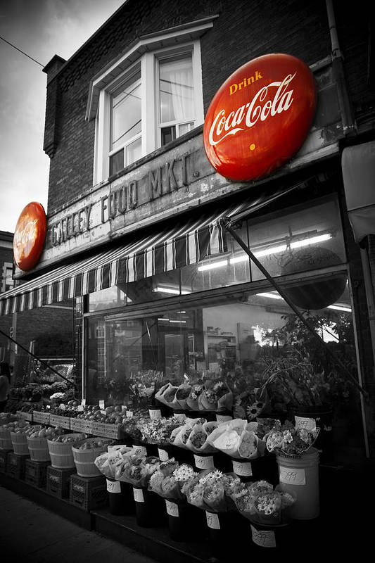 Coke Poster featuring the photograph Vintage Store by Kamil Swiatek