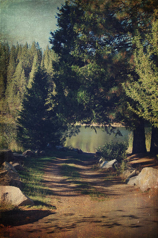 White Pines Lake Poster featuring the photograph You'll Never Understand by Laurie Search