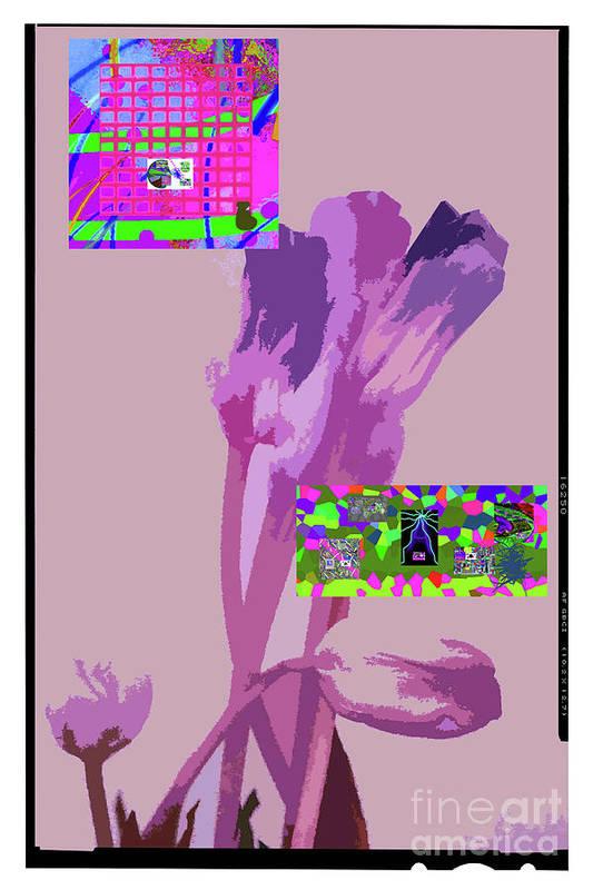 Walter Paul Bebirian Poster featuring the digital art 5-21-2015babcd by Walter Paul Bebirian