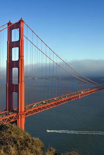 America Poster featuring the photograph Golden Gate Bridge by Melanie Viola