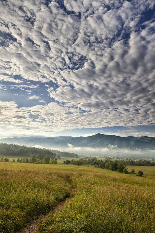 Smokies Poster featuring the photograph Smokies Cloudscape by Andrew Soundarajan