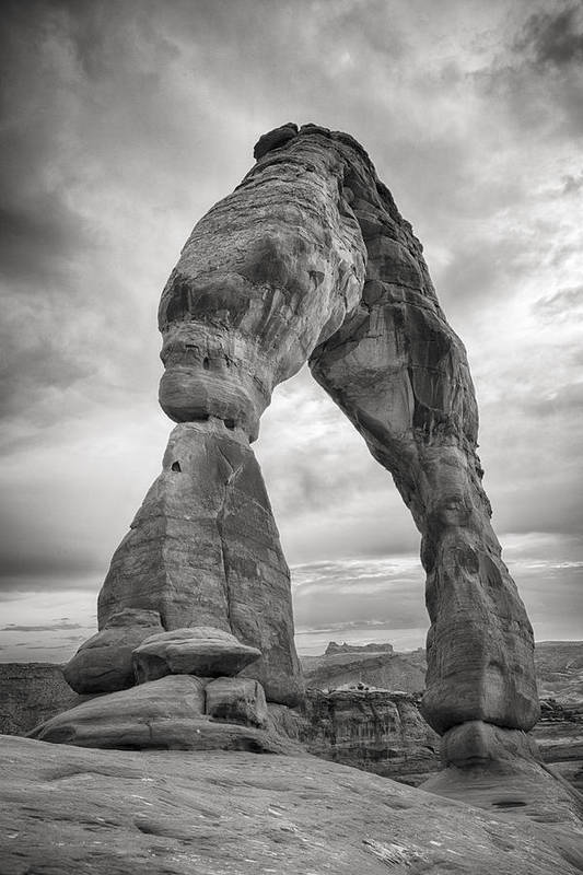 3scape Photos Poster featuring the photograph Unique Delicate Arch by Adam Romanowicz