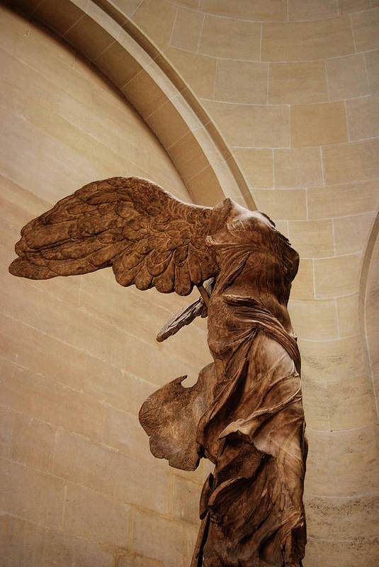 Winged Poster featuring the photograph Winged Victory by JAMART Photography