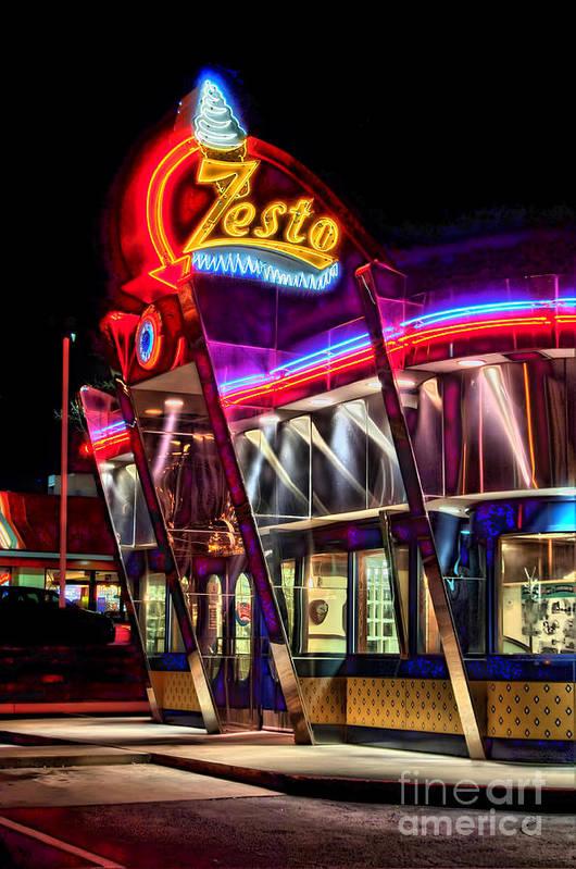 Zestos Poster featuring the photograph Zestos by Corky Willis Atlanta Photography