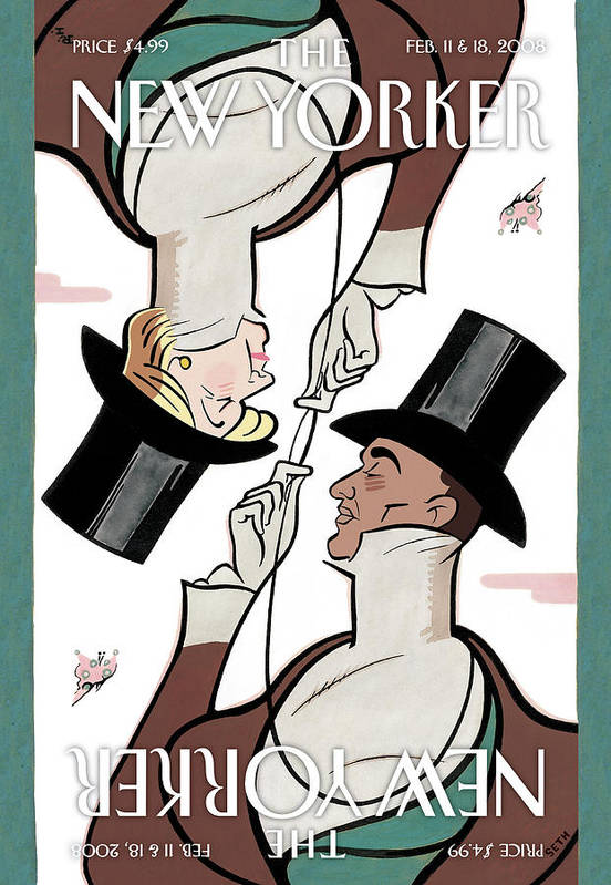 Seth Poster featuring the painting Eustace Tillarobama by Seth
