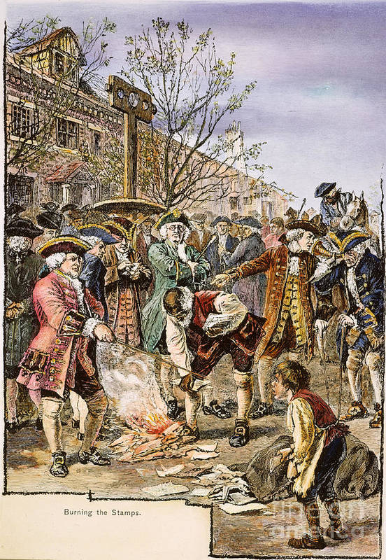 New York: Stamp Act, 1765 Poster By Granger