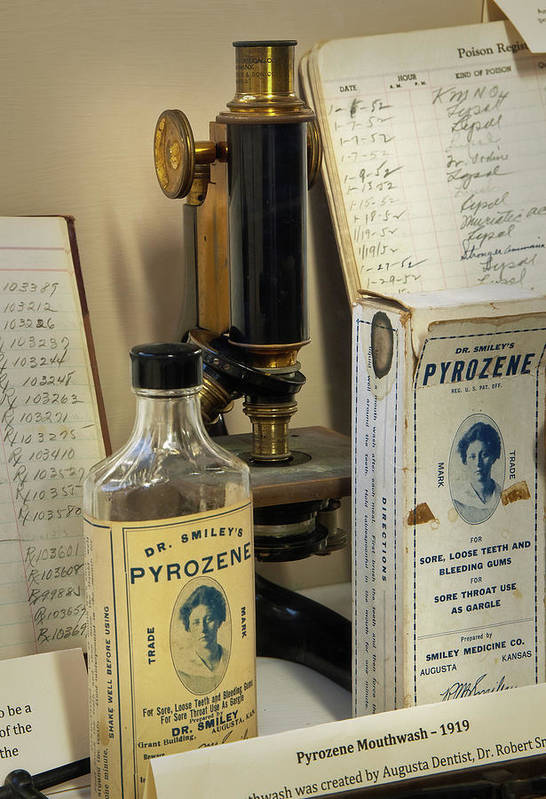 Augusta Poster featuring the photograph Dr Smileys Mouthwash by Fred Lassmann