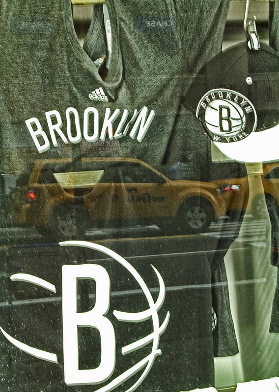 Brooklyn Nets Poster featuring the photograph Brooklyn Nets by Karol Livote
