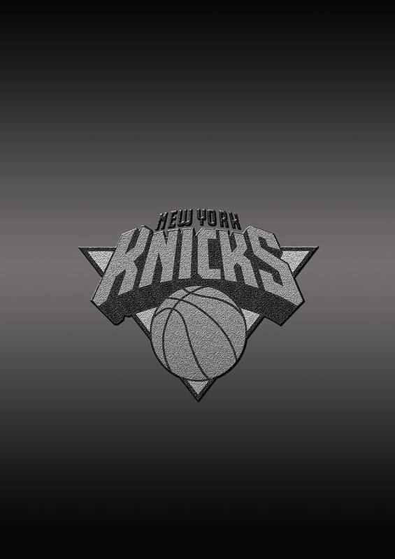 Nba Poster featuring the photograph New York Knicks by Paulo Goncalves