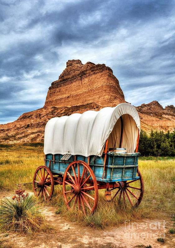 On The Oregon Trail 3 Poster featuring the photograph On The Oregon Trail 3 by Mel Steinhauer