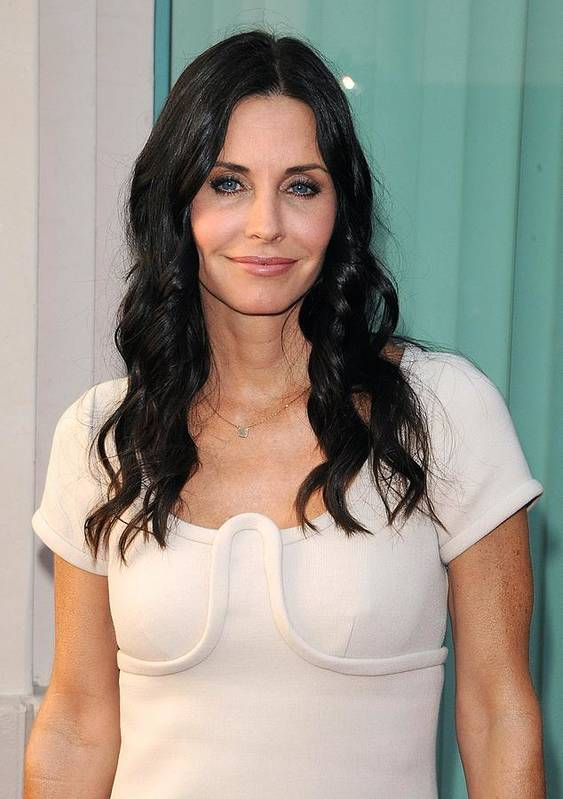 Courteney Cox Poster featuring the photograph Courteney Cox In Attendance For Atas by Everett