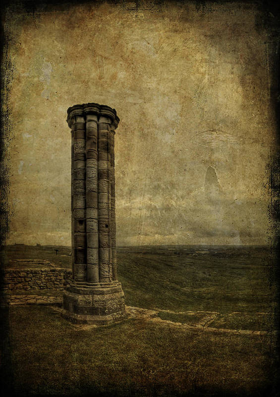 Column Poster featuring the photograph From The Ruins Of A Fallen Empire by Evelina Kremsdorf