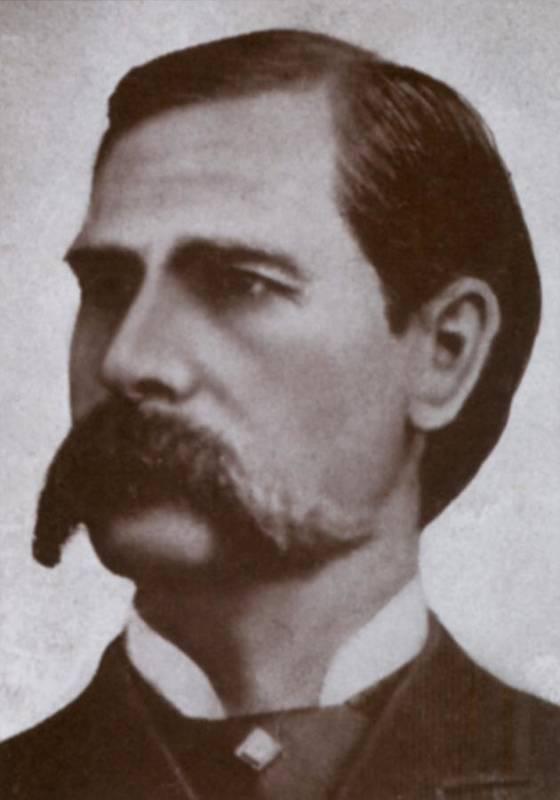 History Poster featuring the photograph Wyatt Earp 1848-1929, Legendary Western by Everett