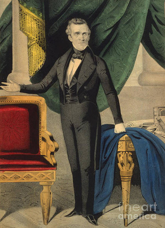 History Poster featuring the photograph James Polk, 11th American President by Photo Researchers
