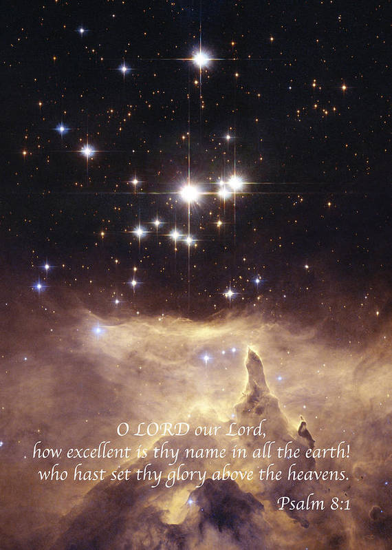 Star Poster featuring the photograph Above The Heavens by Michael Peychich