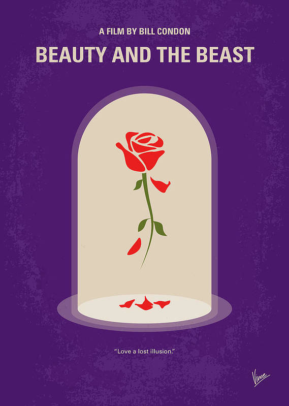 Beauty And The Beast Posters Fine Art America