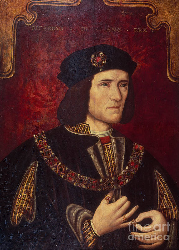 Portrait Poster featuring the painting Portrait Of King Richard IIi by English School