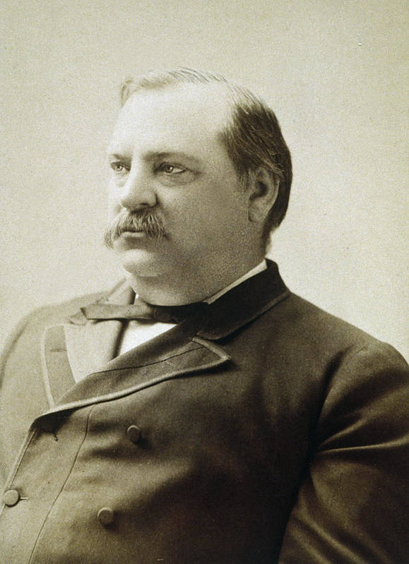 president Grover Cleveland Poster featuring the photograph President Grover Cleveland by International Images