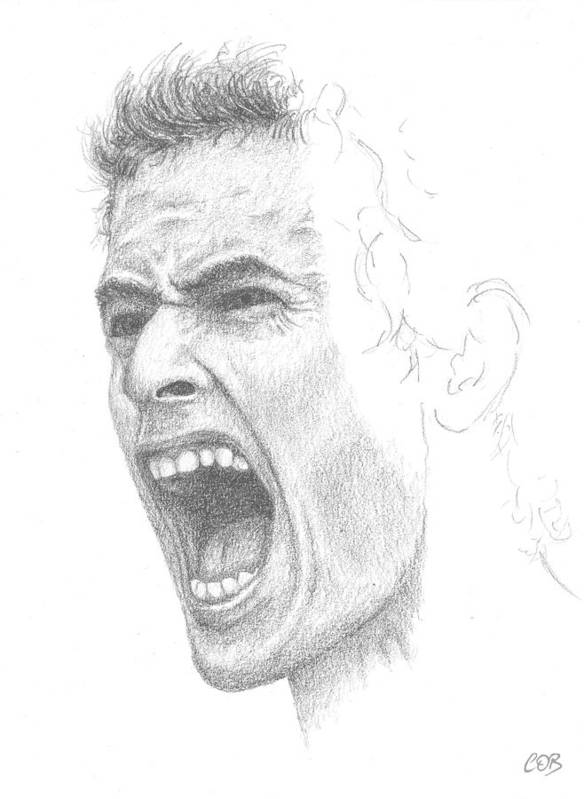 Andy Murray Sketch Poster featuring the drawing Andy Murray Sketch by Conor OBrien