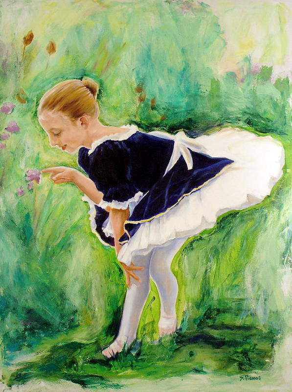 Dancer Poster featuring the painting The Dancer by Sheila Diemert
