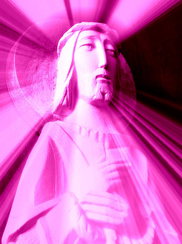 Jesus Poster featuring the photograph The Light Of The World IIi by Aurelio Zucco