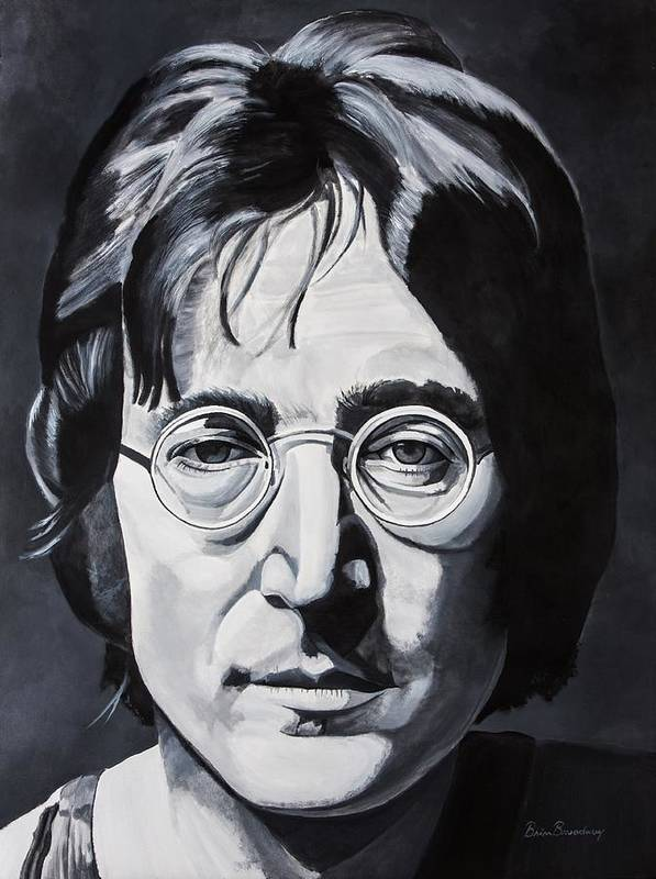 John Poster featuring the painting The Walrus by Brian Broadway
