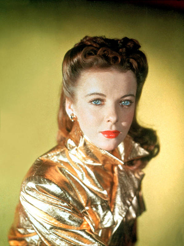 1940s Poster featuring the photograph Ida Lupino by Everett