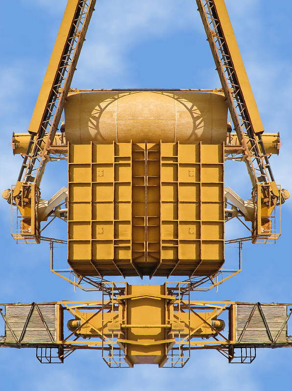 Concrete Plant Poster featuring the photograph Magical Machinery 1 by Wendy J St Christopher