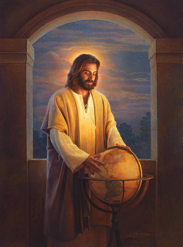 Jesus Poster featuring the painting Peace On Earth by Greg Olsen