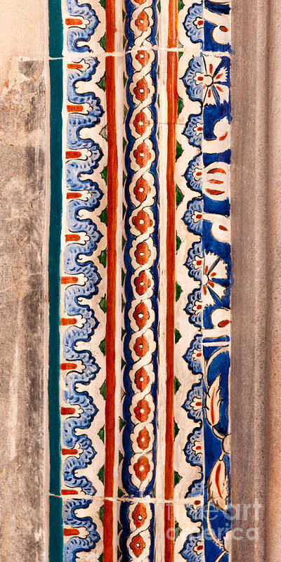 Istanbul Poster featuring the photograph Iznik 19 by Rick Piper Photography