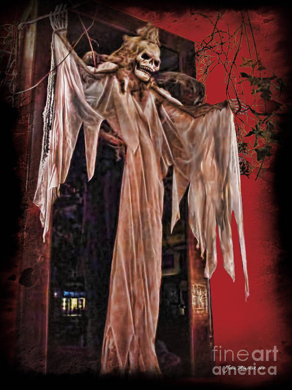Hauntings Poster featuring the photograph Hauntings by Joan Minchak