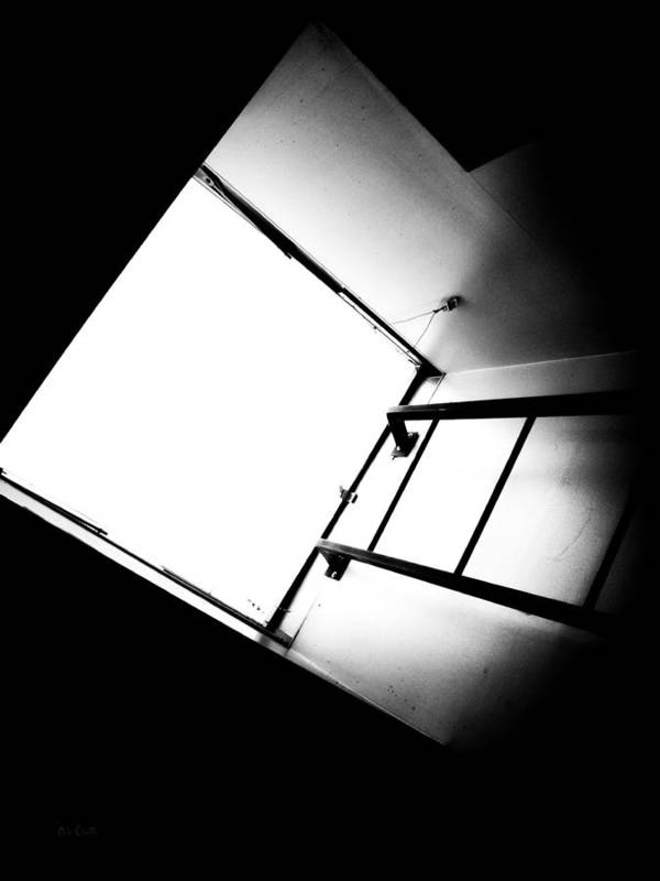 Abstract Poster featuring the photograph Sky Light by Bob Orsillo