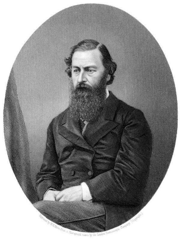 Samuel White Baker Poster featuring the photograph Samuel Baker, British Explorer by