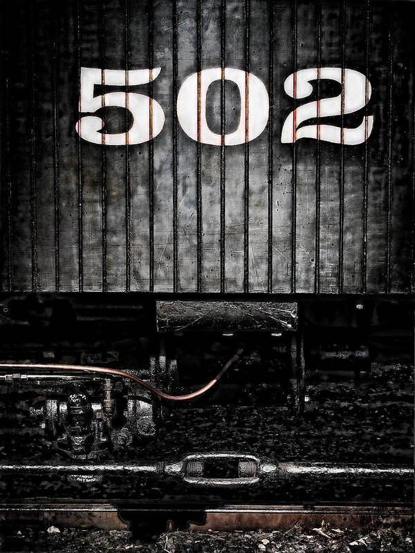 Trains Poster featuring the photograph 502 by Colleen Kammerer