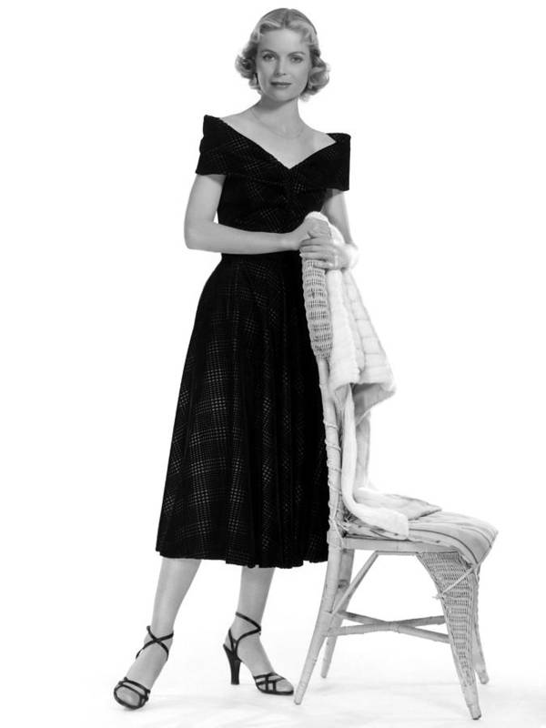 1950s Fashion Poster featuring the photograph Dorothy Mcguire, 1952 by Everett
