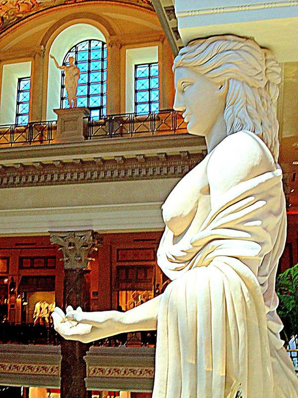 Vegas Poster featuring the photograph My Vegas Caesars 17 by Randall Weidner