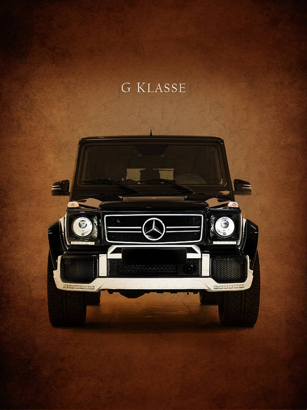 Mercedes benz g klasse poster by mark rogan for Mercedes benz poster