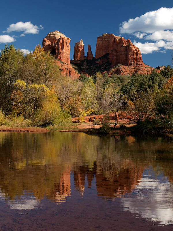 Sedona Poster featuring the photograph Reflections Of Sedona by Joshua House