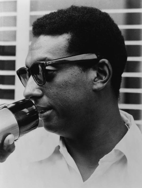 History Poster featuring the photograph Stokely Carmichael 1941-1998 by Everett