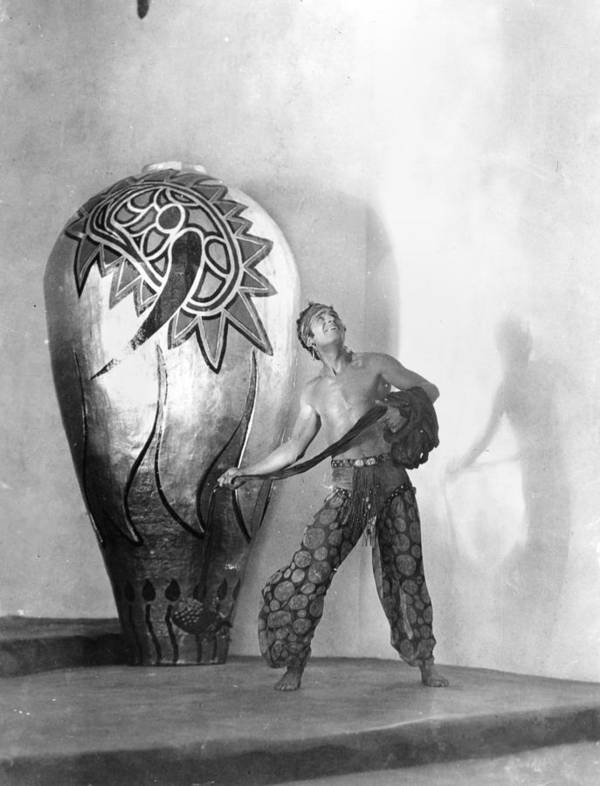 -ecq- Poster featuring the photograph Douglas Fairbanks by Granger