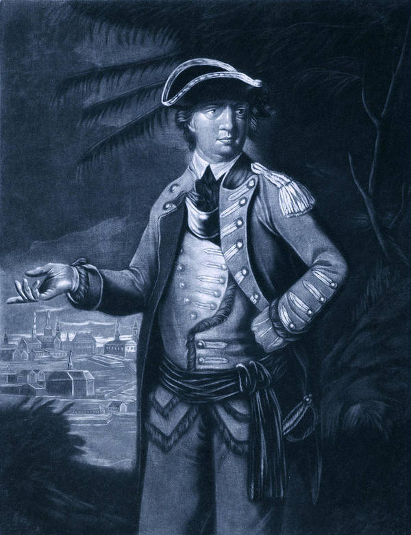 1700s Poster featuring the photograph Benedict Arnold - Who Commanded by Everett