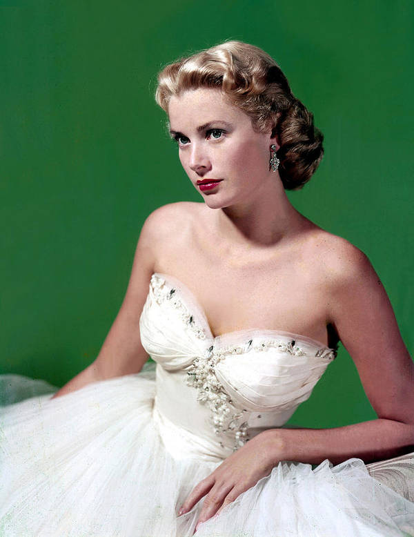1950s Fashion Poster featuring the photograph Grace Kelly, C. Mid-1950s by Everett