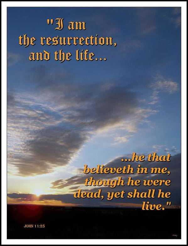 Christian Poster featuring the photograph The Resurrection by Glenn McCarthy Art and Photography