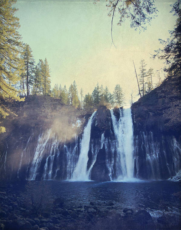 Burney Falls State Park Poster featuring the photograph Splendor by Laurie Search