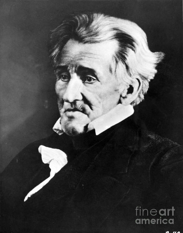 History Poster featuring the photograph Andrew Jackson, 7th American President by Omikron